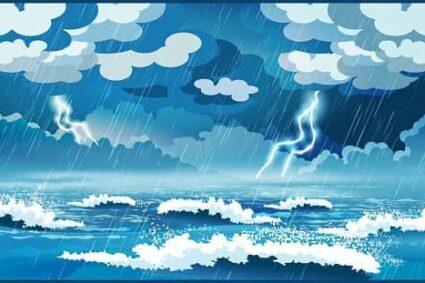 The Fall Of A Shadow, Through Thunder, Lightning and Rain