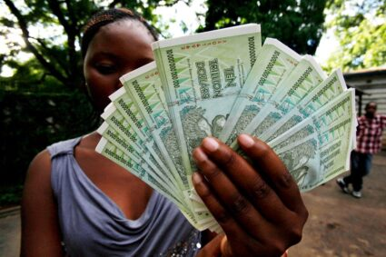 Better Chances Of Shoving An Elephant Up A Staircase Than Stabilising The Zim Dollar